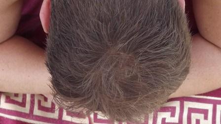 Сухая голова после купания с волосами обработанными пудрой Kmax.jpg