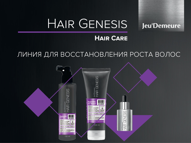 восстановление роста волос Hair Genesis